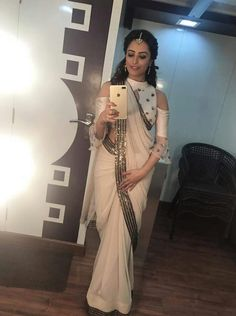 Anita Hassnandani look of the day#shagun#yhm#looking#damn#cute