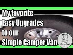 My Favorite Easy Upgrades - Simple DIY Camper Van