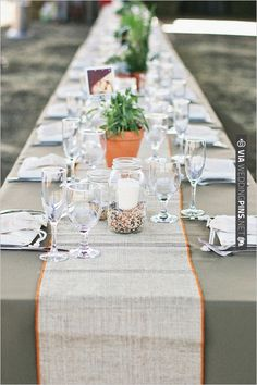 Simple Wedding Decor   Liking This Very Much | VIA #WEDDINGPINS.NET