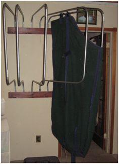 Blanket Rack For Rug Drying