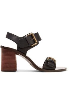 See by Chloé - Buckled Leather Sandals - Black - IT40.5