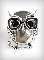 Nerdy Owl Ring at PLASTICLAND