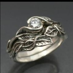 Wiccan Wedding Rings | unique wedding ring!!!