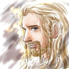 Fili....I think his hair is going white like Balin's as he ages...