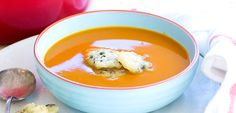 Michelin-starred pumpkin soup recipe - Dinner - Editor's picks - Food & recipes - Recipes - New Zealand Woman's Weekly Whole Food Recipes, Dinner Recipes, Healthy Food, Healthy Recipes, Midweek Meals, Tasty, Yummy Food, Hot Soup, Pumpkin Soup