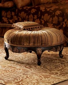 Scala Ottoman by Massoud at Neiman Marcus.