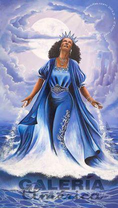 yemaya goddess | Artist: Jorge Guanche-Garcia