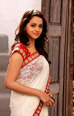 Bhavana in Saree #southindia