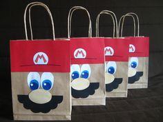 20140201 (27) Plus Super Mario Birthday, Mario Birthday Party, Party Favors For Kids Birthday, Super Mario Party, Kids Party Themes, 6th Birthday Parties, Boy Birthday, Game Mario Bros, Mario Kart