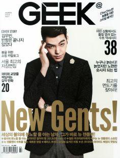 [Scans] Kim Woo Bin on Geek magazine  CR :: 金宇彬_TIME @ weibo