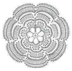 Подушка с розами | Вязание крючком | Вязание спицами и крючком. Схемы вязания.