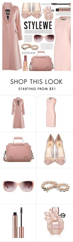 """Blush Autumn with STYLEWE"" by gorgeautiful ❤ liked on Polyvore featuring Semilla, Tory Burch, Viktor & Rolf, Illamasqua, Anja and stylewe"