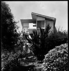 The Elizabeth Van Patten house, 2320 Moreno Drive, Los Angeles. Photograph by Julius Shulman. Usc Library, University Of Southern California, Cinema Posters, Illuminated Manuscript, Digital Image, Van, Exterior, Photograph, Collection