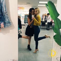 Olivia Holt & Piper Curda: Wallflower Jeans Duo | I Didn't Do It Deets