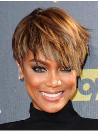 Human Hair Wigs, Celebrity Wigs, Designed Straight Boycuts Human Hair Wigs - The Right Hair Styles Short Pixie Haircuts, Pixie Hairstyles, Short Hairstyles For Women, Short Hair Cuts, Straight Hairstyles, Short Hair Styles, Hairstyle Short, Simple Hairstyles, Pixie Cuts