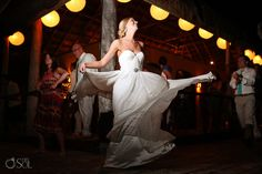 Tulum Wedding at Cabanas La Luna- lovely bride Molly in her bridal gown by Reddoll Tatynana Merenyuk.  Destination wedding photographers in Mexico Del Sol Photography