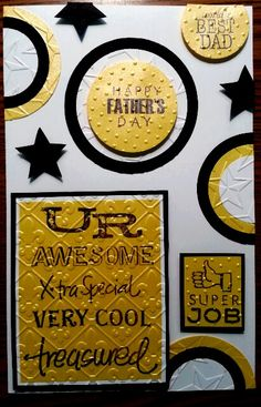 Happy Father's Day Card by Tamara McCaskill for TMCOLLECTION