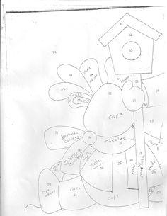 papa noel (moldes) | Manualidades Christmas Crafts, Xmas, Quilting, Expo 2020, Craft Patterns, Quilt Blocks, Diy And Crafts, Santa, Symbols