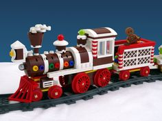 Discover all the amazing ideas made by and voted for by LEGO® fans Lego Christmas Train, Lego Christmas Village, Lego Winter Village, Christmas Gingerbread House, Christmas Villages, Christmas Fun, Christmas Mantles, Christmas Things, Winter Holiday