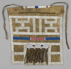 Africa | Beaded apron ~ Iiphotu ~ from the Ndebele people of South Africa | goat…