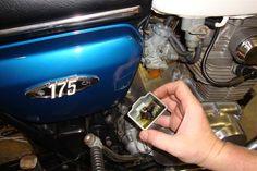 Randy's Cycle Service & Restoration: 1971 Honda CB175 R5