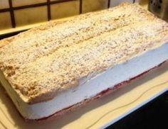 Řezy KARDINÁL - krok za krokem | NejRecept.cz Y Food, Good Food, Food And Drink, Sweet Recipes, Cake Recipes, Eastern European Recipes, Czech Recipes, Southern Dishes, Amazing Cakes
