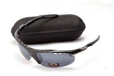 Cheap Sale Oakley Sport Sunglass 9168 Black Frame Black Lens