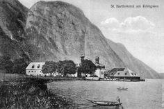 St. Bartholomae Königssee Lake Berchtesgaden Watzmann.TV