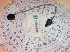 Sunset Sitara Dowsing Pendulum  Divination Pendulum  by esoTERRAca