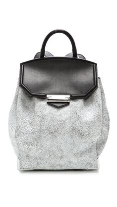 Alexander Wang Prisma Cracked Skeletal Backpack Shopping Bag, Alexander  Wang, Backpacks, Shoulder Bag e0680e176bd