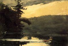 Winslow Homer, Deer in the Adirondacks, 1889