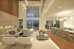 modern living room by DKOR Interiors Inc.- Interior Designers Miami, FL- Love the details in this design