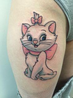 Risultati immagini per tatuaggio aristogatti