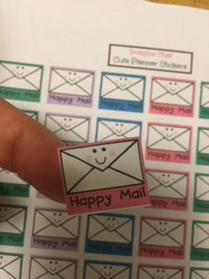 Mail Planner Stickers for your Erin Condren by ImagineThatbyLori