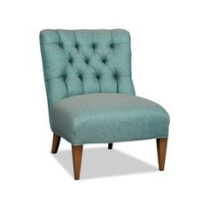 Sam Moore Winslow Slipper Chair Finish: Palisade Dark, Upholstery: 2159 Cranberry