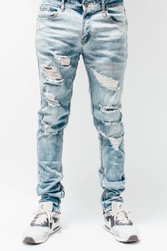 Premium Destroyed Jeans
