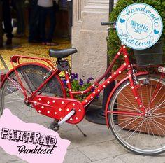 Fahrrad Aufkleber Set  Punkte Dots Tattoo Rad M681 von deinewandkunst auf DaWanda.com