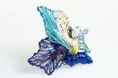Hey, I found this really awesome Etsy listing at https://www.etsy.com/ru/listing/122228569/blue-art-jewelry-butterfly-blue-brooch
