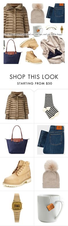 """""""soul : ego"""" by uncharged-batteries ❤ liked on Polyvore featuring Hetregó, Yohji Yamamoto, Longchamp, PS Paul Smith, Timberland, Inverni, Casio and le mouton noir & co."""