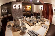 """""""School"""" kitchen Table Settings, Restaurant, School, Kitchen, Cooking, Diner Restaurant, Kitchens, Place Settings, Restaurants"""