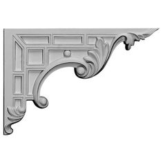 Decorative mouldings and architectural ornamentation by Pearlworks. Resin casted trims and flexible molding for interior and exterior design and construction, fine architectural wood carvings. Better than hardwood trim molding because its flexible Exterior Design, Interior And Exterior, Stair Brackets, Shelf Brackets, Flexible Molding, Decorative Mouldings, Decorative Shelf, Basement Stairs, Basement Carpet
