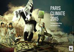 Forderungen des WWF zur UN-Klimakonferenz COP 21 in Paris © Saxoprint Liberty Leading The People, Paris Climate, Interview, Paris 2015, Civil Disobedience, About Climate Change, Climate Action, Creative Advertising, Environmental Issues