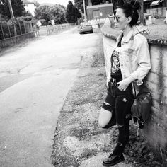 Punk street style in a fall sunday!