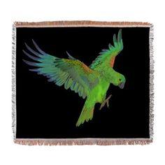 Parrot Woven Blanket