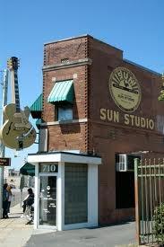 Sun Studio where Elvis recorded his first record. Memphis, TN