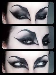 Image result for black and white makeup tutorial