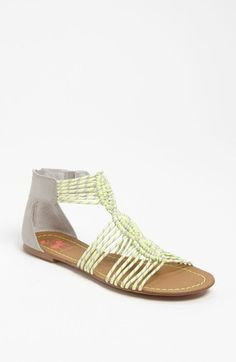 Twisted sandals! Circus by Sam Edelman
