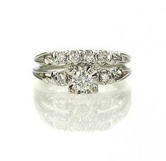 64e1f0fed 36 Trendy vintage wedding dress 1960 engagement rings #dress #wedding  #vintagewedding Antique Wedding