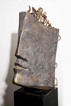 Abstract Sculptures at Jacques Le Bescond – Music Book – Bronze Sculpture 1 Bronze Sculpture, Human Sculpture, Sculpture Head, Sculptures Céramiques, Sculptures For Sale, Pottery Sculpture, Abstract Sculpture, Wood Sculpture, Metal Art