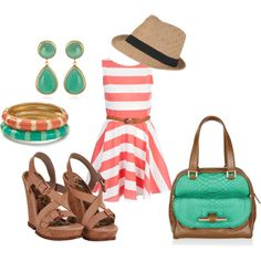 Everything but the shoes and purse...not sure if I can pull off the fedora... Heh.
